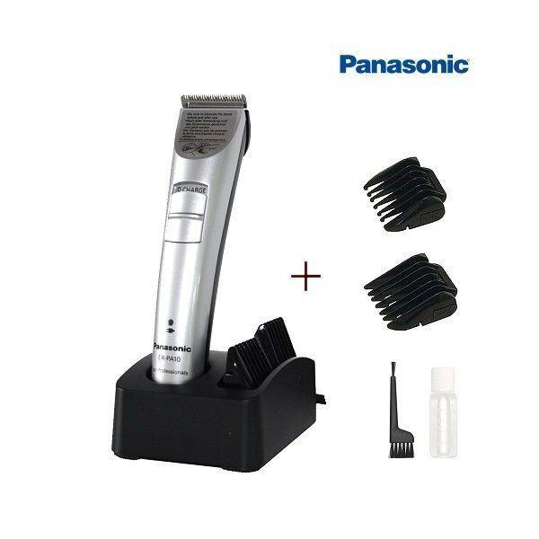 Επαγγελματική επαναφορτιζόμενη μηχανή κουρέματος ειδικής χρήσης PANASONIC ER-PA10  Μηχανή trimmer επαναφορτιζόμενη της Panasonic για τέλειο καθάρισμα (φαβορίτες, σβέρκο κτλ) , εξαιρετικά ελαφρύ μέγεθος (102gr) , αυτονομία μπαταρίας 60min, φόρτιση μπαταρίας 8h, χτενάκια 1 τεμάχια διπλό: 3mm-6mm. Made in Japan   Επαγγελματική κουρευτική μηχανή ειδικής χρήσης Βάθος κοπής 3 - 6 χιλ. Κεφαλή 2 ανοξείδωτων λεπίδων  http://www.beautymark.gr/ 72,73 € με Φ.Π.Α.