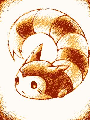 Furret. Don't forget to like this Pokemon Facebook page for more cool Pokemon content: http://www.facebook.com/shinydragonairx
