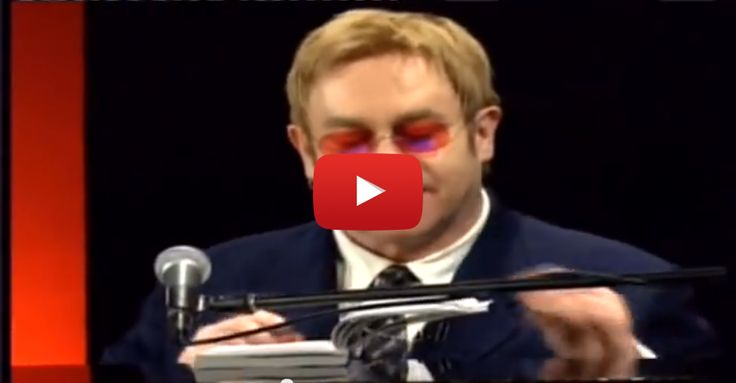 Elton John on songwriting - performing Peer Gynt from a book