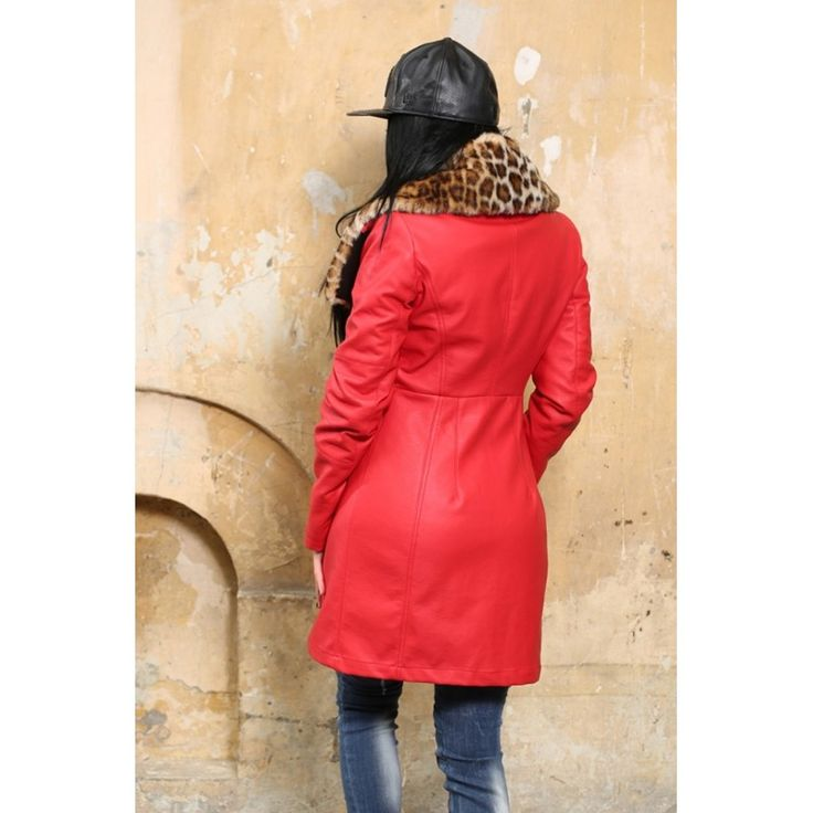 JACHETA DAMA RED QUEEN JACKET IMBLANITA DIN COLECTIA FOGGI REBELLION - Morelli Design