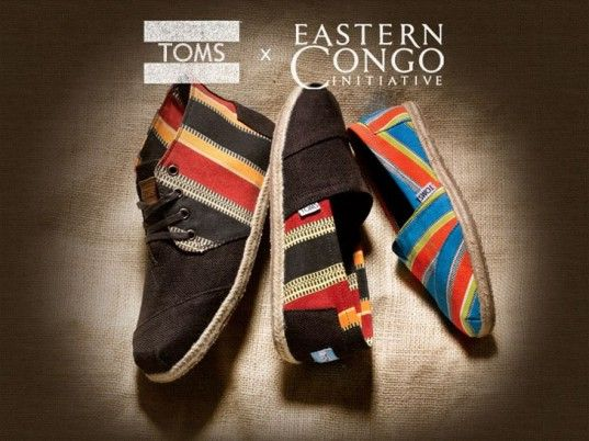 Eastern Congo Initiative, TOMS Shoes, TOMS, eco-friendly shoes, sustainable shoes, Africa, fashion philanthropy, Ben Affleck, eco-celebs, eco-friendly celebrities, green celebrities, sustainable celebrities, eco-fashion, sustainable fashion, green fashion, ethical fashion, sustainable style