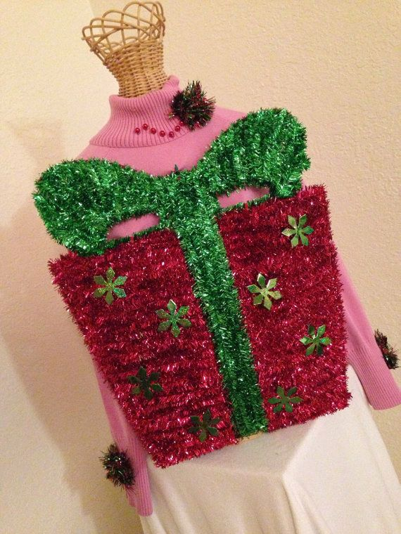 Ugliest Christmas Sweater Party Ideas Part - 44: 19 Stupefyingly Ugly Christmas Sweaters You Can Buy