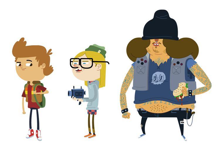 illustration character design - Buscar con Google