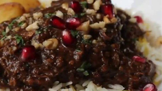 Chef John's take on the classic Persian savory stew fesenjan features duck, pomegranate, and walnuts.