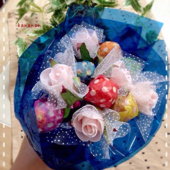 キャンディーやチョコレートなどを束ねて作る、美味しい可愛いキャンディーブーケが話題です!ブレゼントにイベントにぴったりのキャンディーブーケ、贈った相手に喜ばれること請け合いです!!