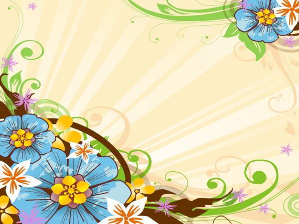 Free Wonderful Floral Background for Abstract PPT Slides    Do you want free powerpoint backgrounds? the right place. Because freeppt site offers you the highest quality of various backgrounds.
