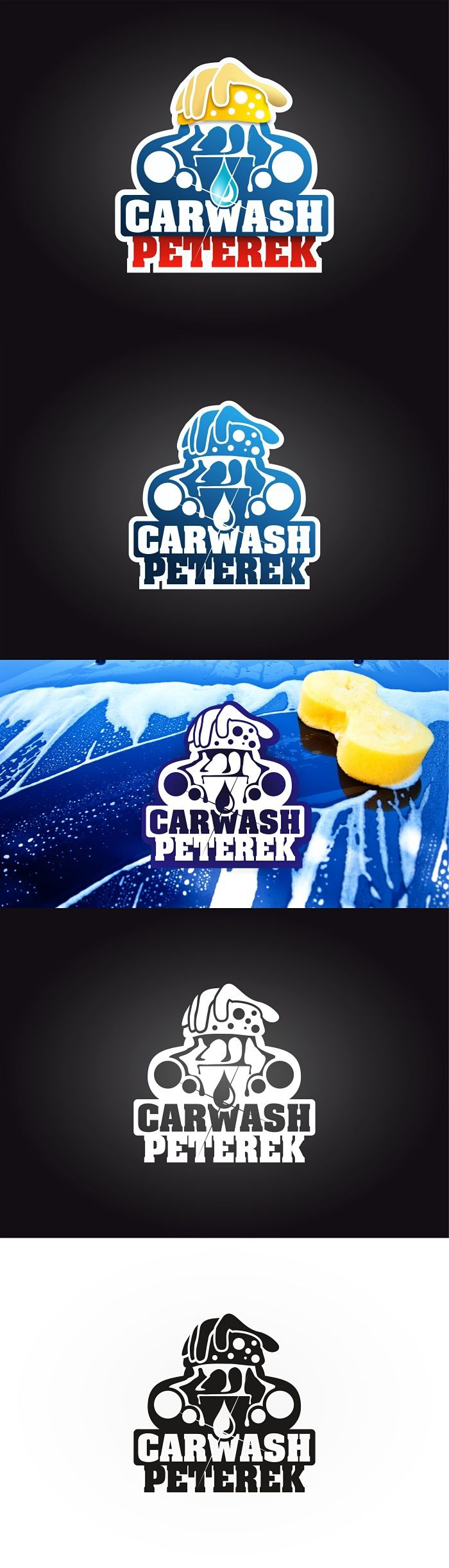 "Podívejte se na můj projekt @Behance: ""Logo for the car wash. Name is Peterek. First version."" https://www.behance.net/gallery/43313741/Logo-for-the-car-wash-Name-is-Peterek-First-version."