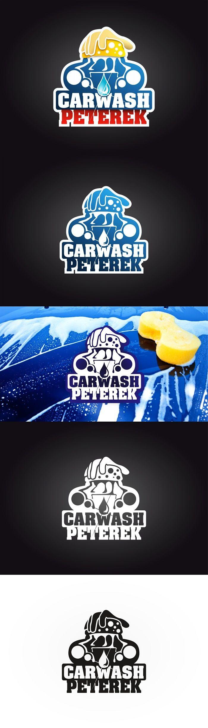 """Podívejte se na můj projekt @Behance: """"Logo for the car wash. Name is Peterek. First version."""" https://www.behance.net/gallery/43313741/Logo-for-the-car-wash-Name-is-Peterek-First-version."""