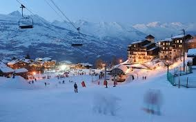 Les Arcs 2000, this was where I spent new years 2014!