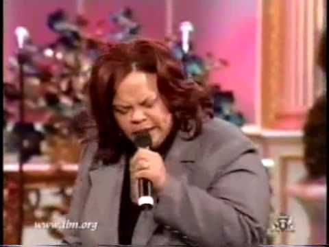 "Tamela Mann sings ""Speak Lord"" from her Gotta Keep Movin' album during a TBN broadcast."