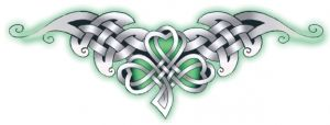 Celtic Shamrock Tattoo