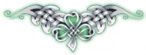 Trèfle Celtique Tattoo