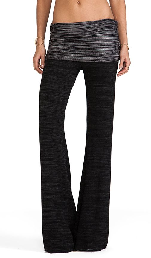 fold over bell pant