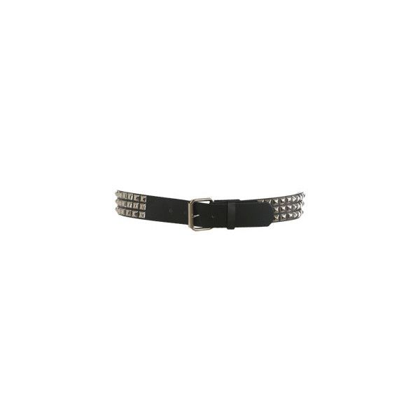 3 Row Stud Belt - Teen Clothing by Wet Seal ($6) ❤ liked on Polyvore featuring accessories, belts, jewelry, wet seal, wet seal belts and studded belt