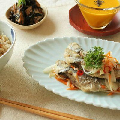 料理レッスン写真 - 【子連れ限定日】また食べたいと言われる鯵の南蛮漬けレッスン♫