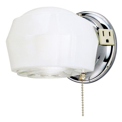 Wall Sconce With Pull Chain Switch Interesting 17 Best Pull Chainswitch Sconces Images On Pinterest  Pull Chain Design Decoration