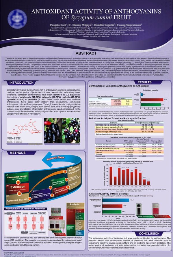 Scientific Poster By Nabuy Scientific Poster Design Scientific Poster Science Poster