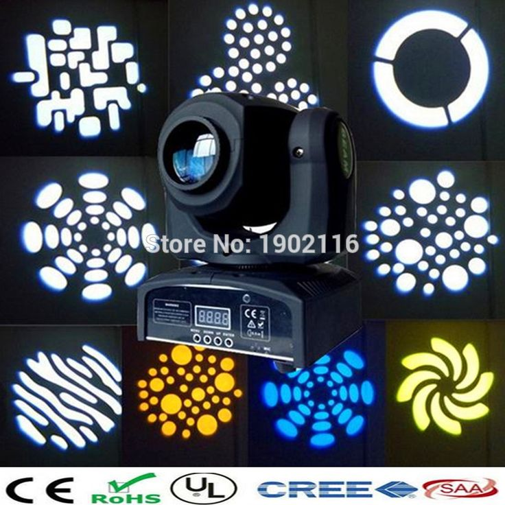 91.00$  Buy here - http://alii9p.worldwells.pw/go.php?t=32718432506 - Cheap price Spot lighting10w gobo moving head mini KTV led gobo moving lights party decoration 10w moving head disco dj lighting