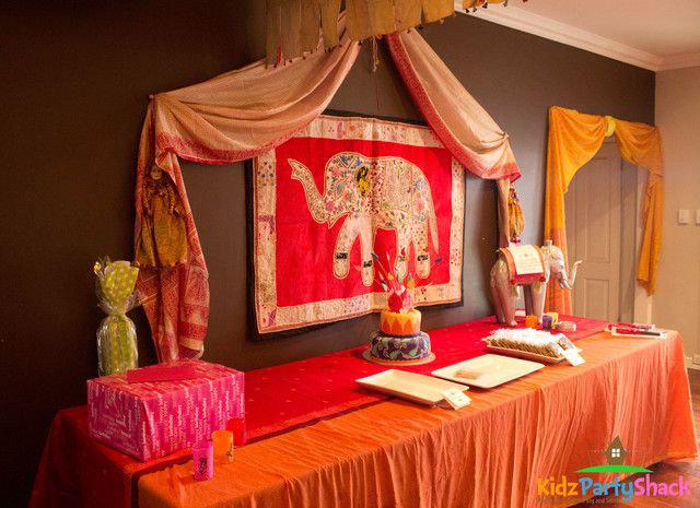 Photos of a Bollywood themed party.  But they have great ideas for general decorating.