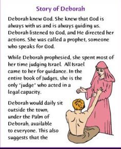 Deborah in the Bible