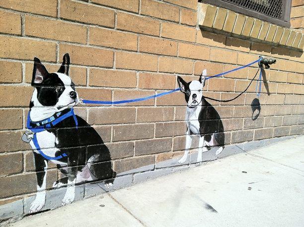 Fancy - Mural Dogs