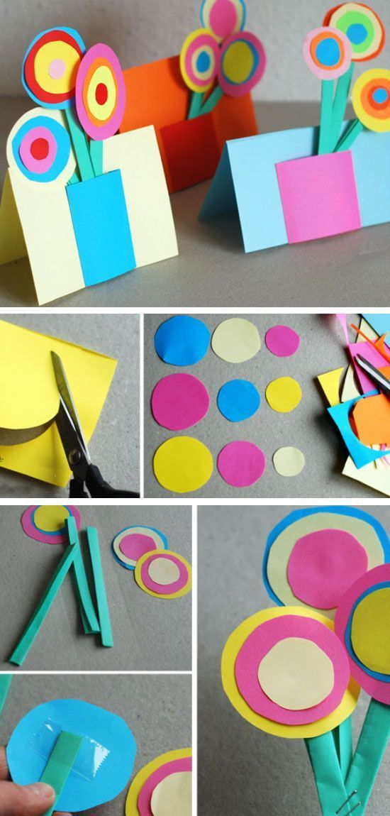 30 awesome diy mothers day crafts for kids to make diy for Craft ideas for mom