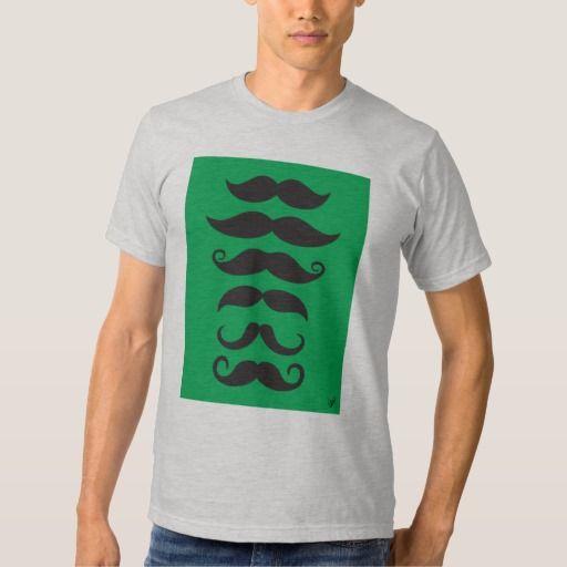 Moustache - green