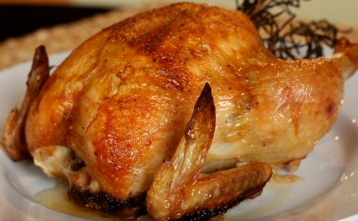 """""""Savory Turkey Brine"""" is a easy brine gets half its portion of its salt from Pacific Organic free range Chicken Broth, even though it is low in sodium. The combination for herbs and spices will give your turkey a rich organic flavor. Can also be used for chicken pork, fish and seafood."""