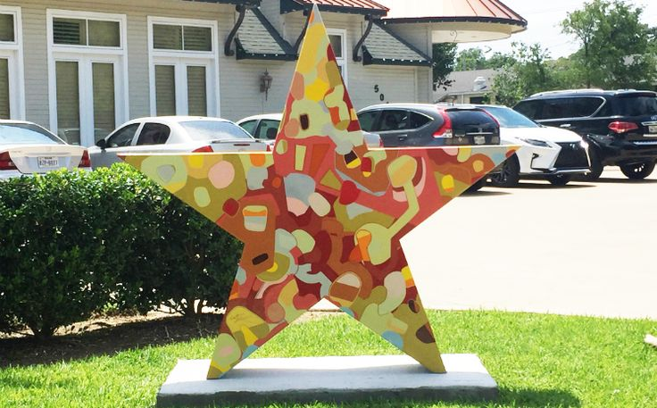 Six New Public Art Pieces Installed as Part of Star of Texas Project Read more: http://www.arlington-tx.gov/news/2017/06/26/six-new-public-art-pieces-installed-part-star-of-texas-project/