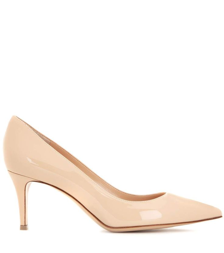Gianvito 70 nude patent leather pumps