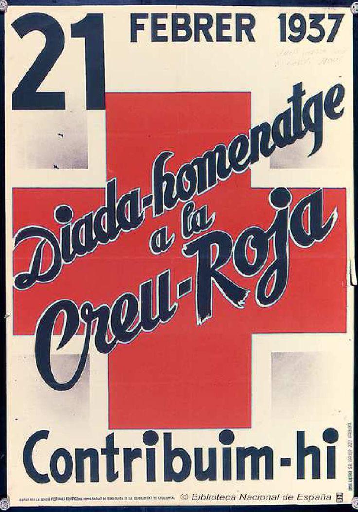 Cartel — 1937 Cruz Roja