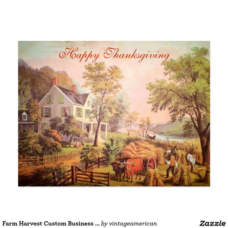 22 best Customizable Business Thanksgiving Cards images on ...