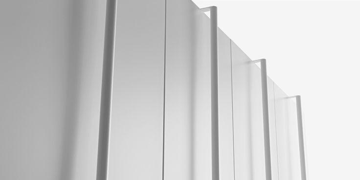 Vela | manual mobile shelving system | Fantin Srl | design Salvatore Indriolo