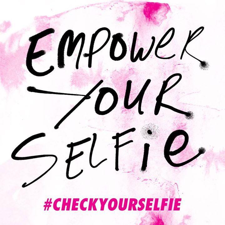 Take control. #Checkyourselfie now!  #BCA #KeepaBreast #checkyourselfie