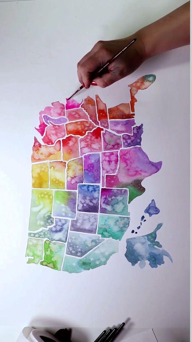 Watercolor America by Josie Lewis