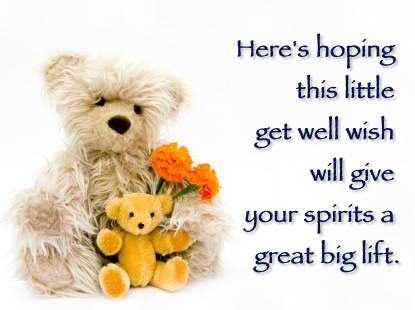 Send Your Loved Ones Some Get Well Soon Quotes, Messages, Cards And Wishes  And Let Them Know They Are Always In Your Prayers!