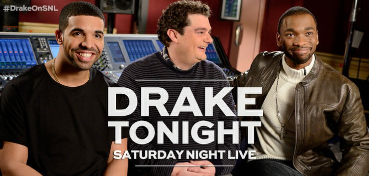 Drake hosts and performs as musical guest tonight on Saturday Night Live!