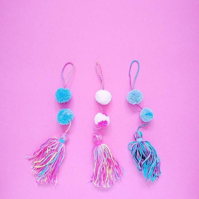 Handmade Door Tassels at the A Rosie Life Shop.