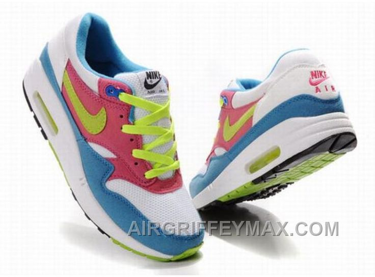 http://www.airgriffeymax.com/womens-nike-air-max-87-shoes-white-blue-red-green-cheap.html WOMEN'S NIKE AIR MAX 87 SHOES WHITE/BLUE/RED/GREEN CHEAP : $94.83