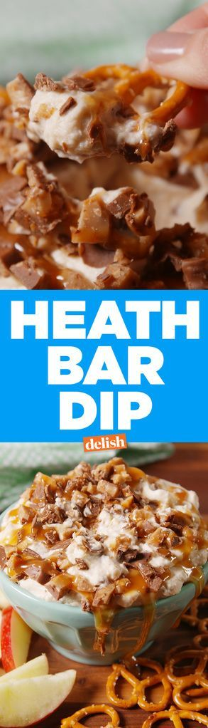 If You Love Heath Bars, You Must Make This Dip