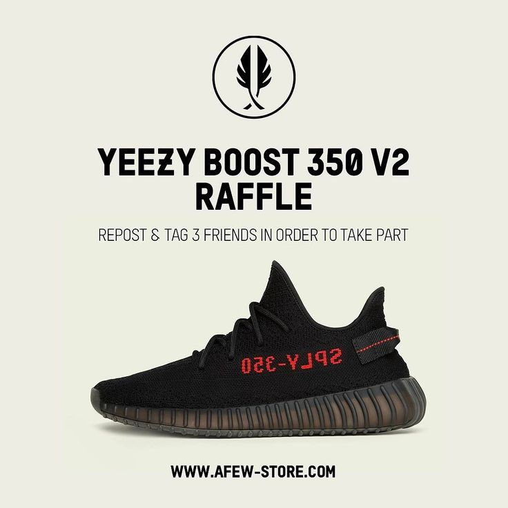 "YEEZY RAFFLE Kanye returns with the new @adidasoriginals Yeezy Boost 350 V2 in a clean ""Bred"" Colorway. Hit the link in our Bio to enter the Instore & Online Raffle. Good Luck to everyone!!! #adidasOriginals #KanyeWest #yeezyBoost #350V2 #bred #supply350"