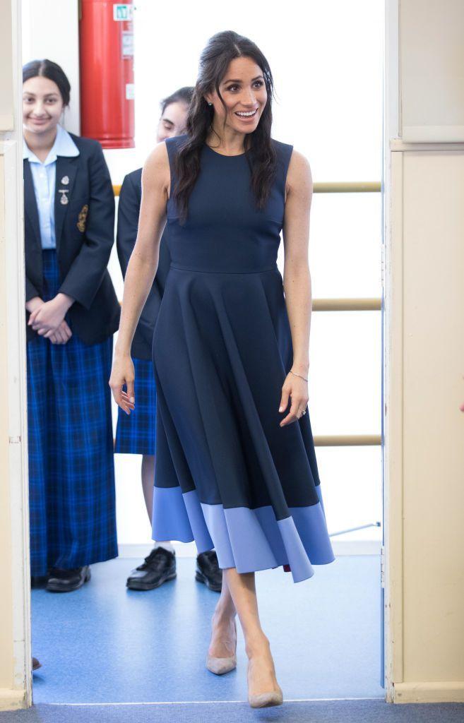 Meghan Markle Fez Duas Escolhas Inusitadas De Vestidos E