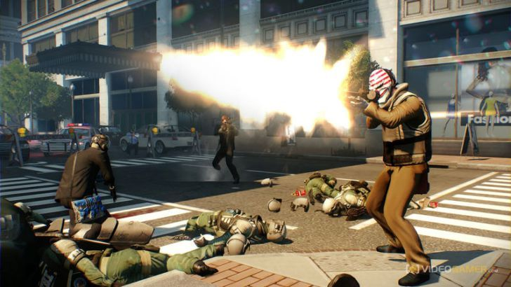 Payday 2 is getting loads of new content on PS4 today