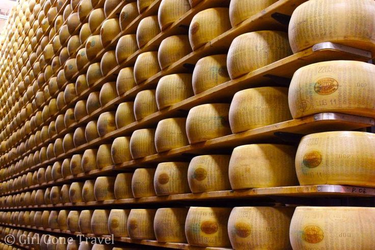 Touring a Parmagiano-Reggiano factory is a must when in Parma, Italy #PinUpLive