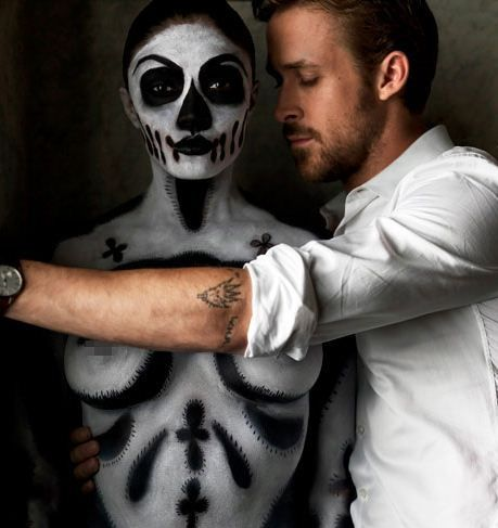 : Ryan Gosling, Eye Candy, Halloween Costumes, Skeletons Woman, This Men, Hey Girls, Beautiful People, Esquir Magazines, Photo