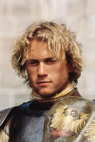 Heath Ledger in A Knights Tale. Another great actor lost too soon.