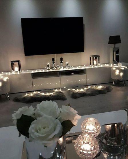 20 String Lights Living Room Decor Ideas Son Zamlar