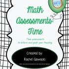 These Time Assessments contain 2 tests, 4 quizzes, and answer keys for everything. Very useful in a variety of ways!