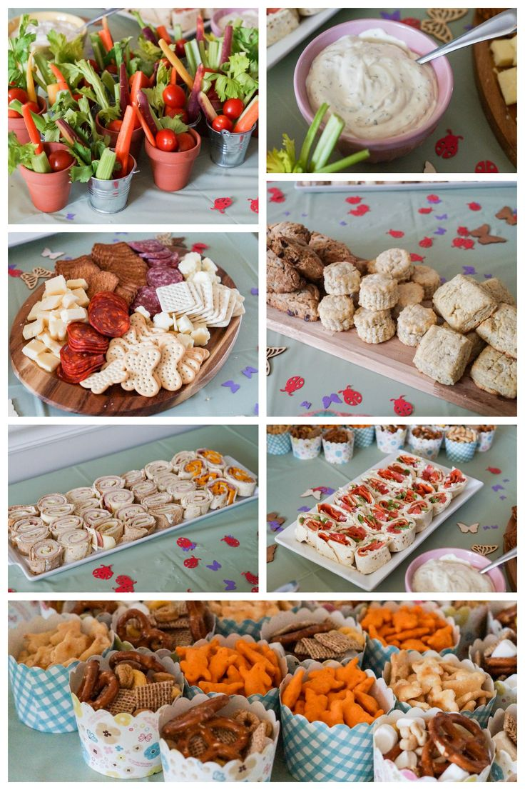 Spring Garden Birthday Party Food