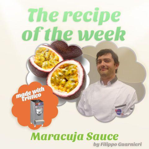 The #recipeoftheweek: #MARACUJA #SAUCE, by #FilippoGuarnieri, to make with #Trittico. https://www.facebook.com/BRAVOSPA/photos/a.218288168188180.66026.160418363975161/889372334413090/?type=1&theater